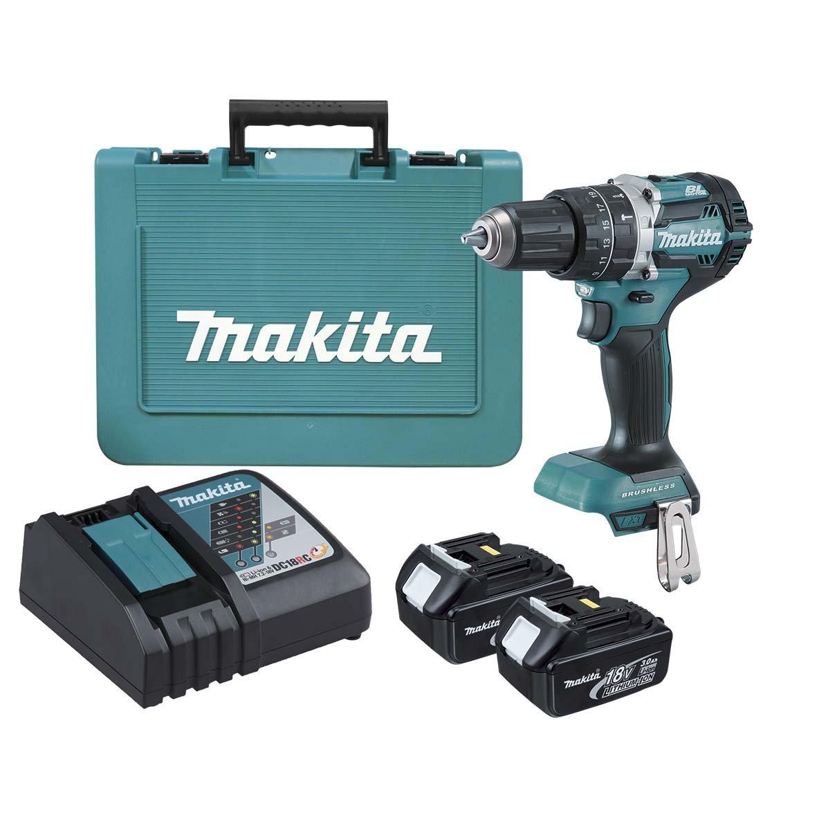 makita-drill-hammer-cordless-kit